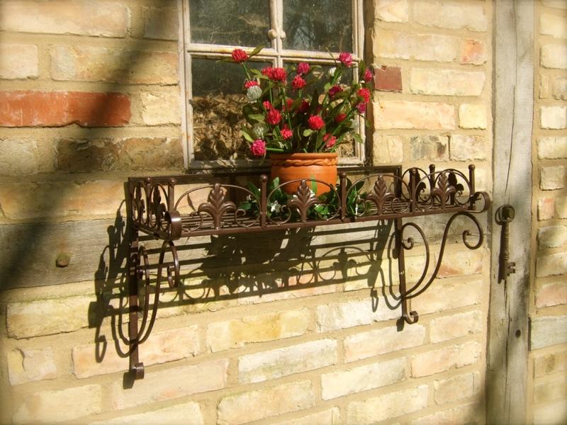 fiori vaso supporto f piante mangerecce cassetta per fiori supporto alla finestra banca erbe. Black Bedroom Furniture Sets. Home Design Ideas