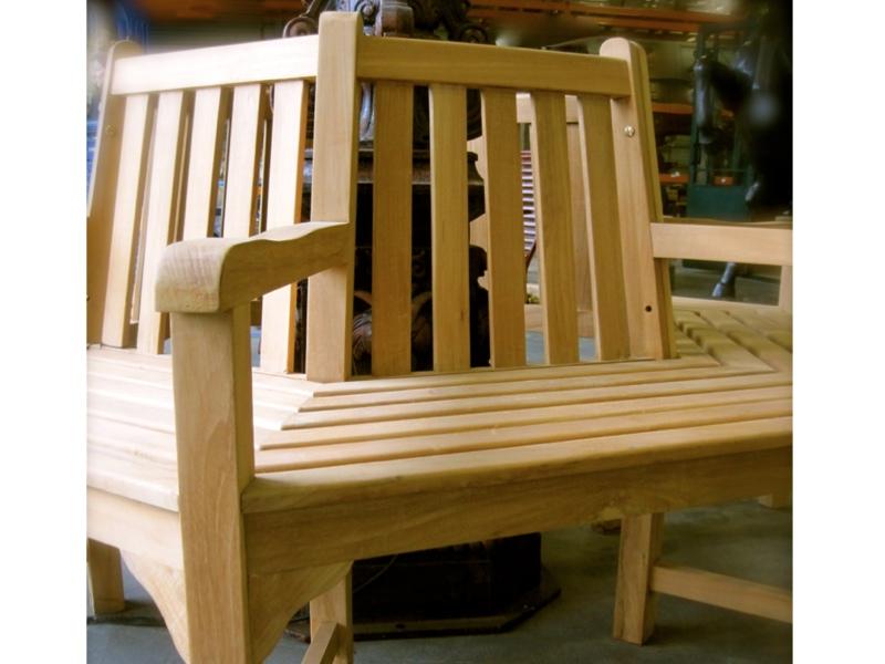 rundbank f r den baum gartenm bel mit 6 sitzfl chen mit armlehnen sehr stabil. Black Bedroom Furniture Sets. Home Design Ideas
