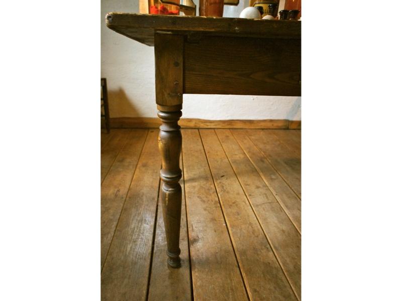 Tisch antik omas kuchentisch 20iger jahre sehr stabil for Küchentisch antik