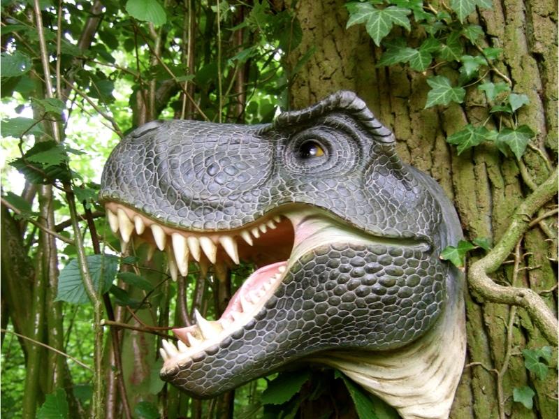 dinosaurier kopf garten skulptur saurier dino t rex. Black Bedroom Furniture Sets. Home Design Ideas