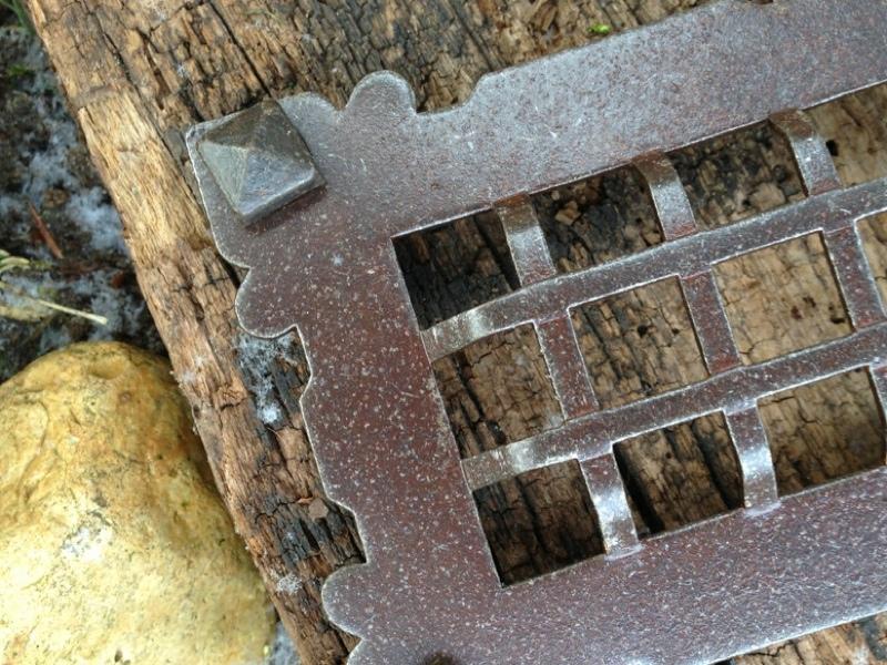 Details zu kloster klappe mittelalterlic h gitter tür zum weinkeller