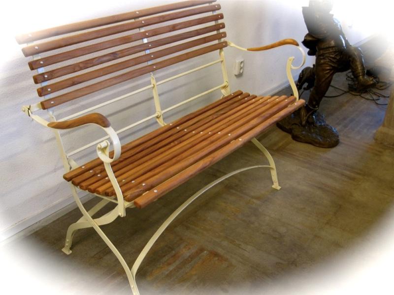 Teak Gartenmobel Venlo :  klappbares Metallgestell mit Teakholz, Gartenmöbel,Klapp Bank  eBay