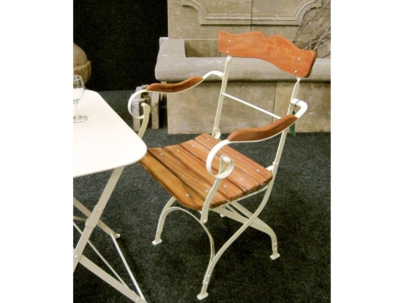 Armlehnen-Stuhl, Laura, stilvolle Gartenmöbel Großmutters ...