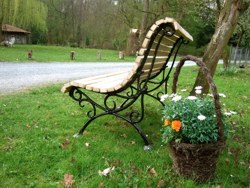 Fixias.com | Gartenbank Aus Eisen Gusseisen Garten_045457 ~ Eine ...