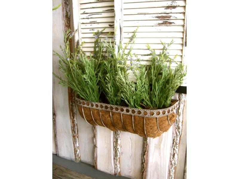 blumentreppe blumenhocker landhausstil balkonregal ebay. Black Bedroom Furniture Sets. Home Design Ideas