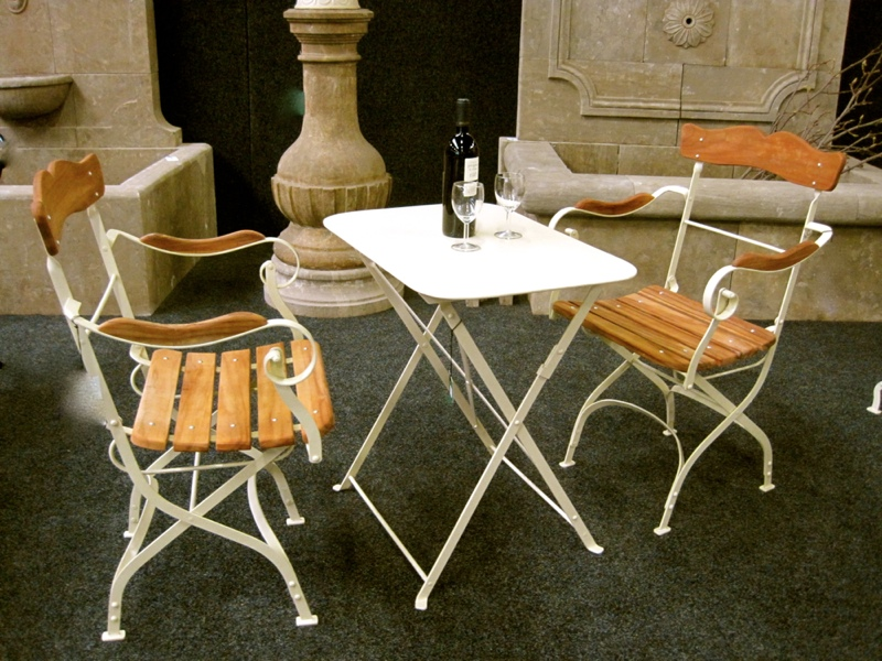 armlehnen stuhl laura stilvolle gartenm bel gro mutters gartenstuhl eisen ebay. Black Bedroom Furniture Sets. Home Design Ideas