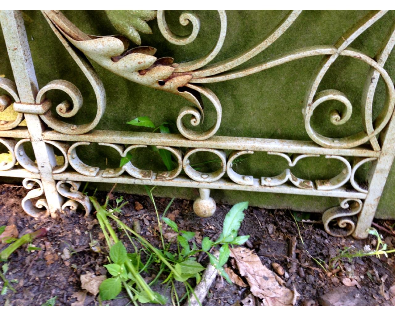 Gartentor antik aus schmiedeeisen sehr sch nes tor f - Antikes gartentor ...